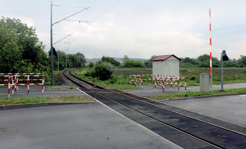 Level crossing Novska
