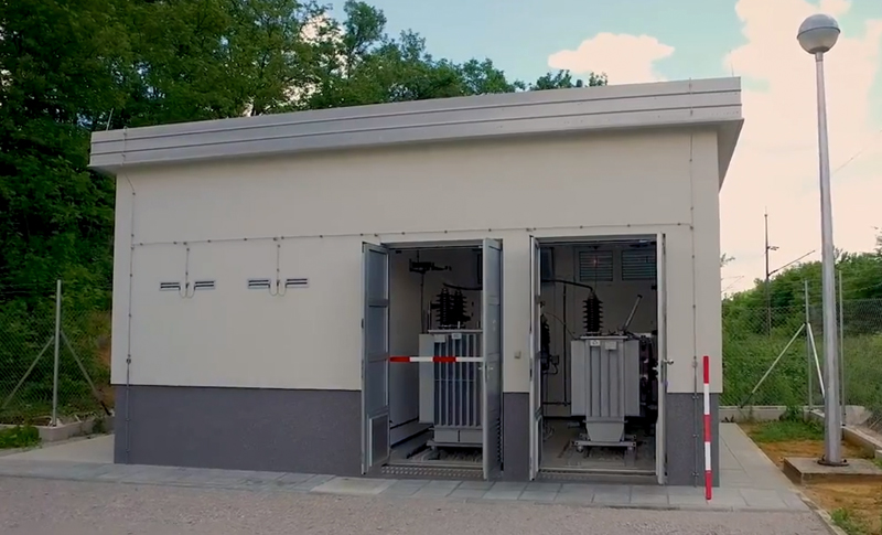 Reactive power compensation plant at ETS 110/25 kV Mrzlo Polje and Oštarije