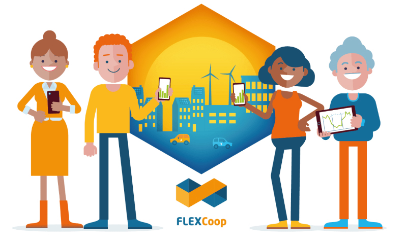 FLEXCoop - Democratizing energy markets through the introduction of innovative flexibility-based demand response tools and novel business and market models for energy cooperatives